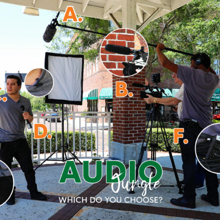 Which Audio Equipment Do You Choose?