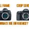 The Difference Between Full Frame and Crop Sensor